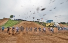 Motocross am Start